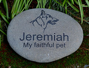 German Shepherd Pet Memorial