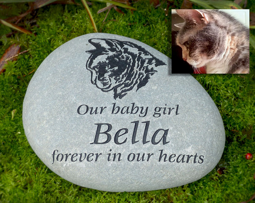 Tabby Head Pet Memorial