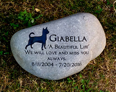 Chihuahua Pet Memorial