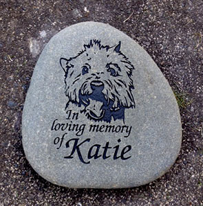 West Highland Terrier Pet Memorial