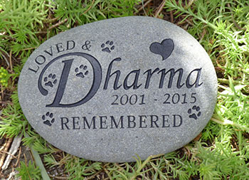 Fancy Name Pet Memorial