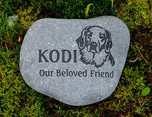 Golden Retriever Pet Memorial
