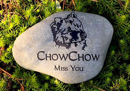Chow Cow Pet Memorial