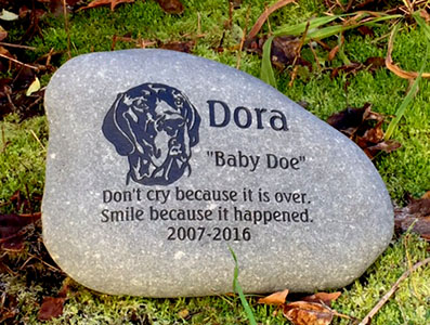 Long Eared Great Dane Pet Memorial